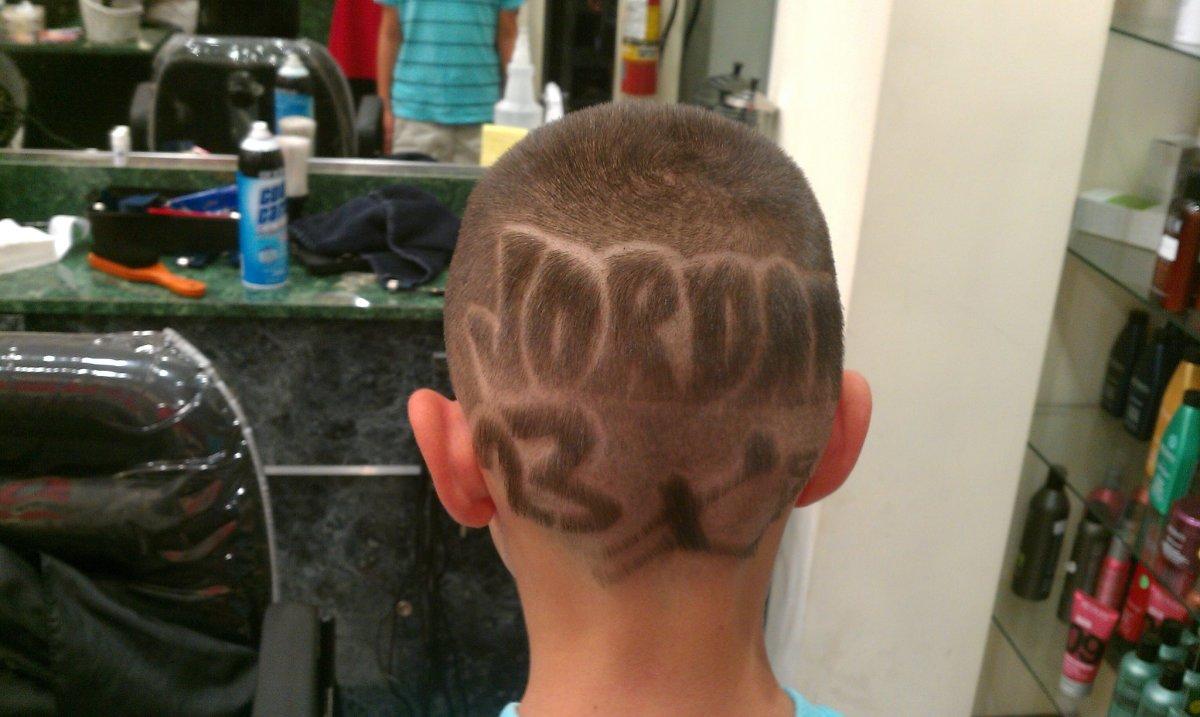 Jordan 23 Basketball Hair Design