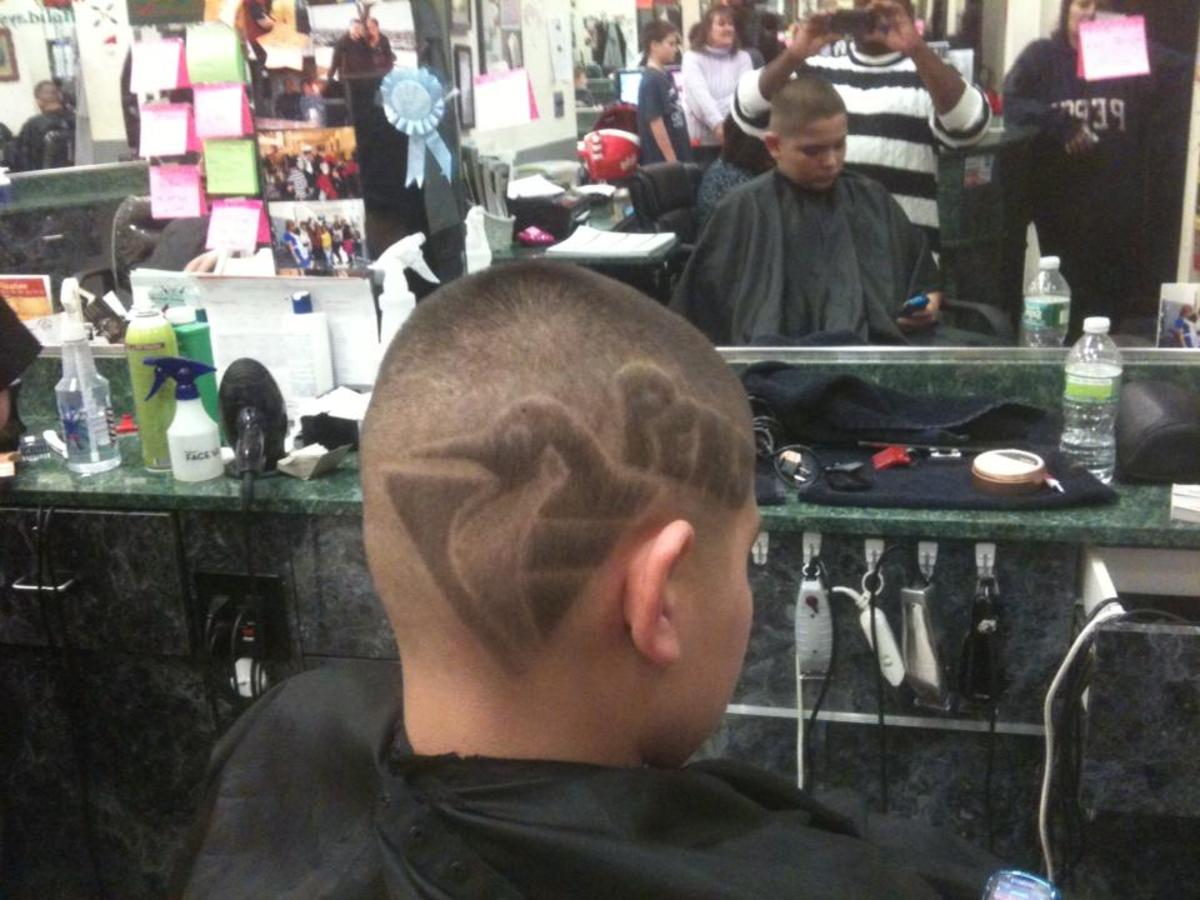 Pittsburgh Penguins Hair Design