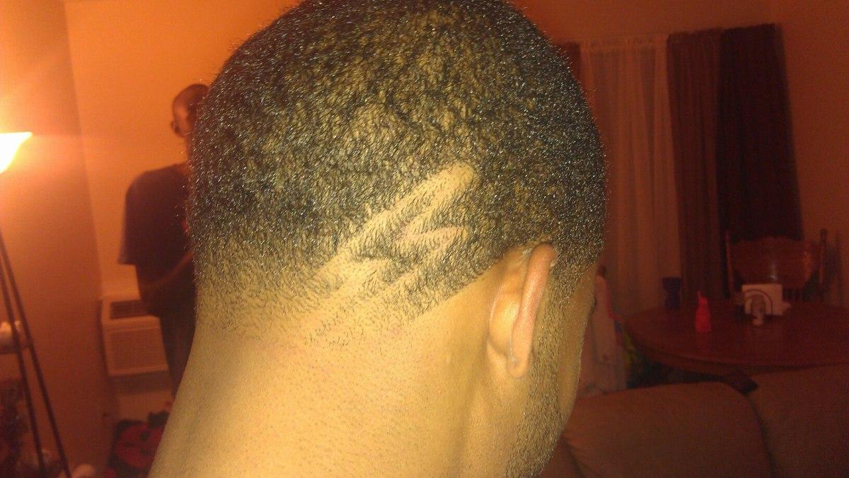 Lightning Bolt Hair Design