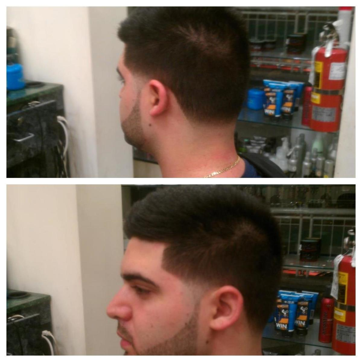 Taper Fade with Beard