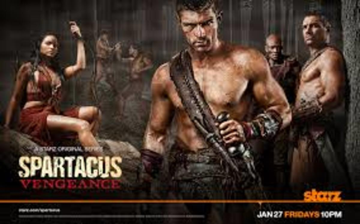 Spartacus comes on Starz, and has shown at least 3 seasons.