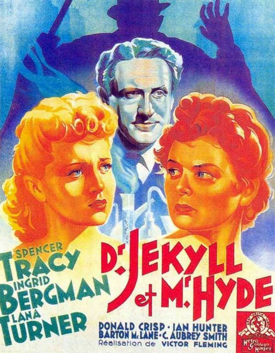 Dr. Jekyll and Mr. Hyde (1941) French poster