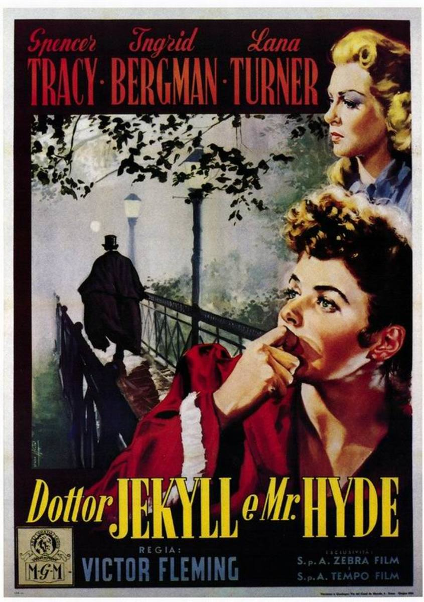 Dr. Jekyll and Mr. Hyde (1941) Italian poster