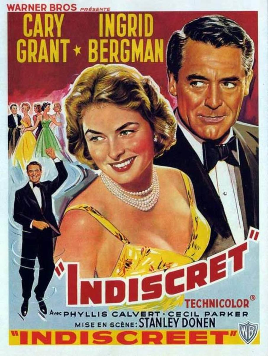 Indiscreet (1958) Belgian poster