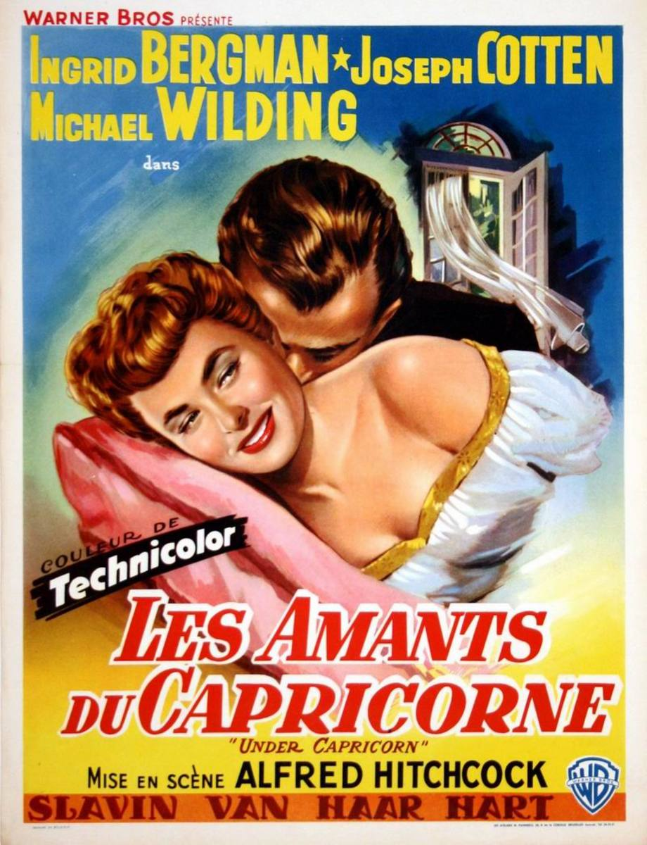 Under Capricorn (1949) Belgian poster