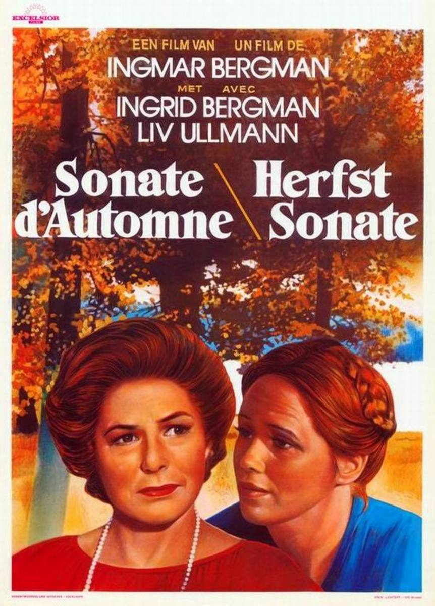 Autumn Sonata (1978) French poster