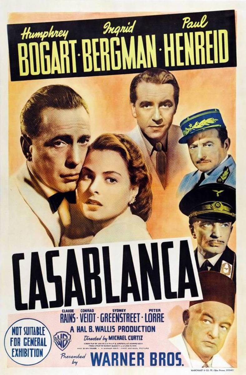 Casablanca (1942) Australian poster