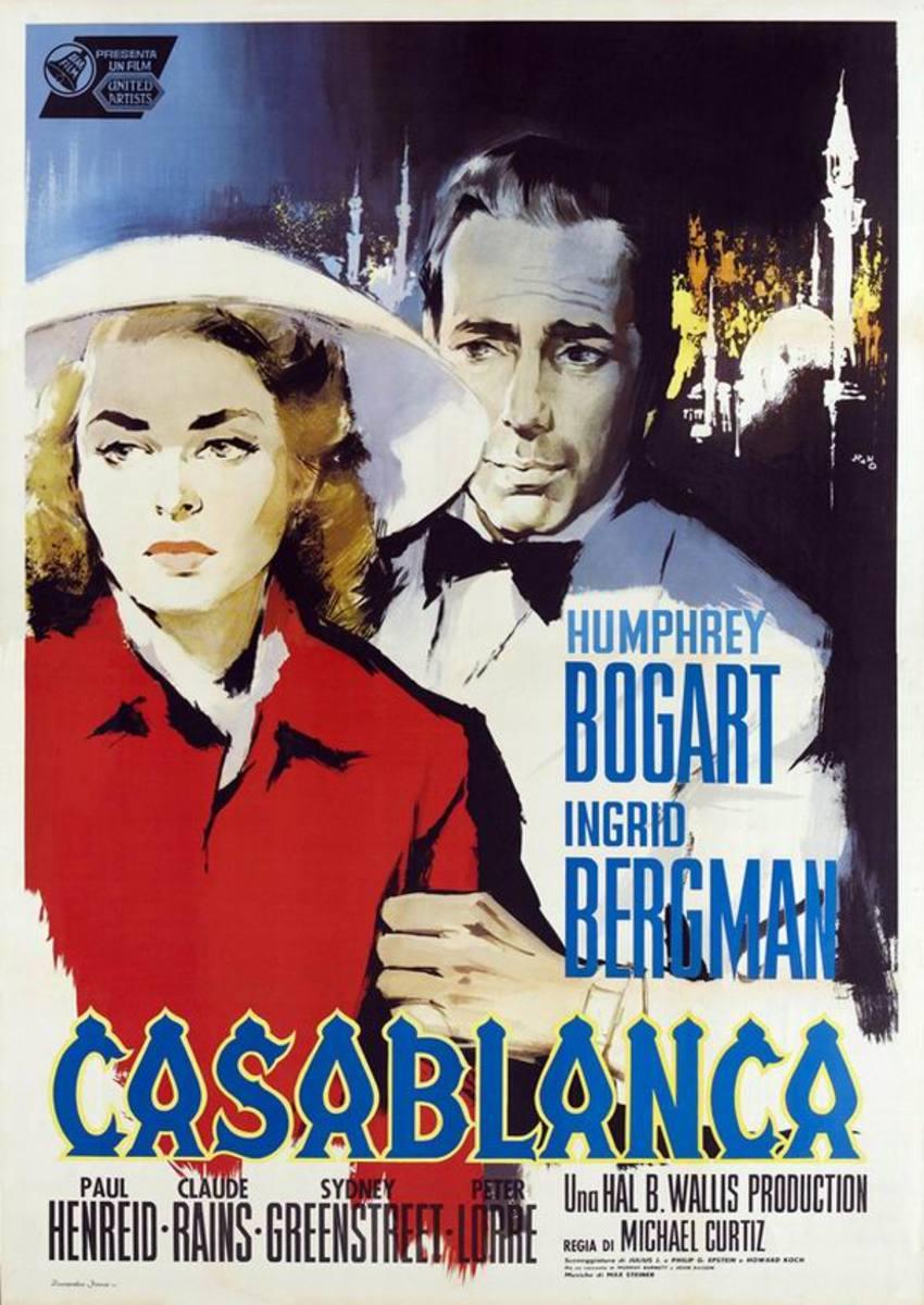 Casablanca (1942) Italian poster