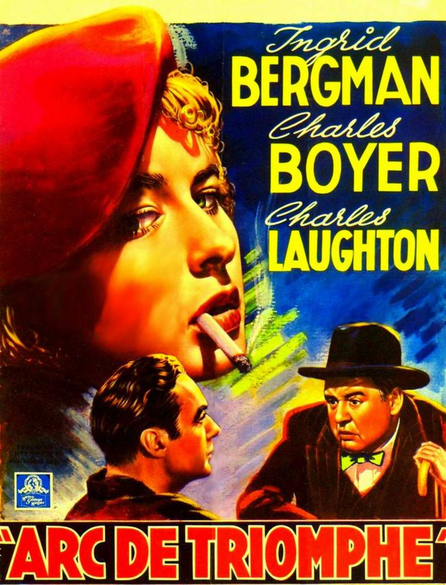 Arch of Triumph (1948) French poster