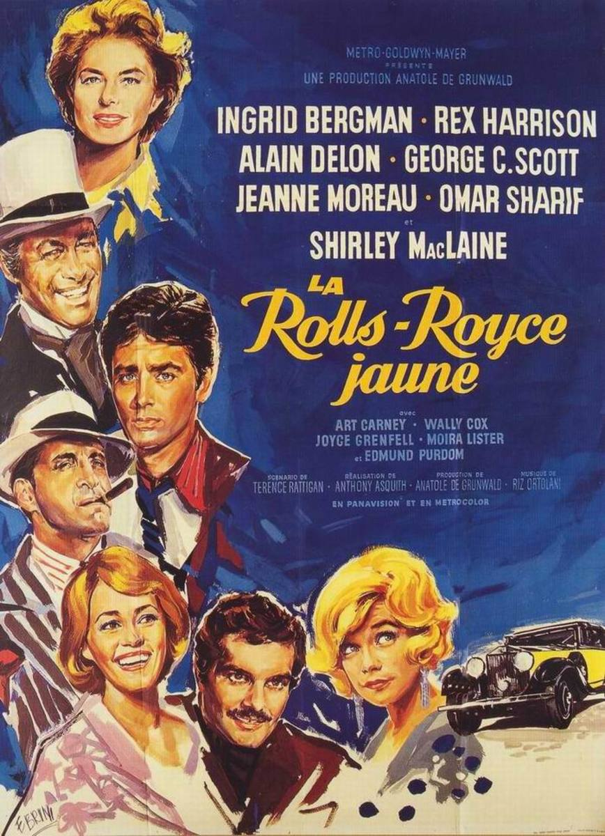The Yellow Rolls Royce (1964) French poster