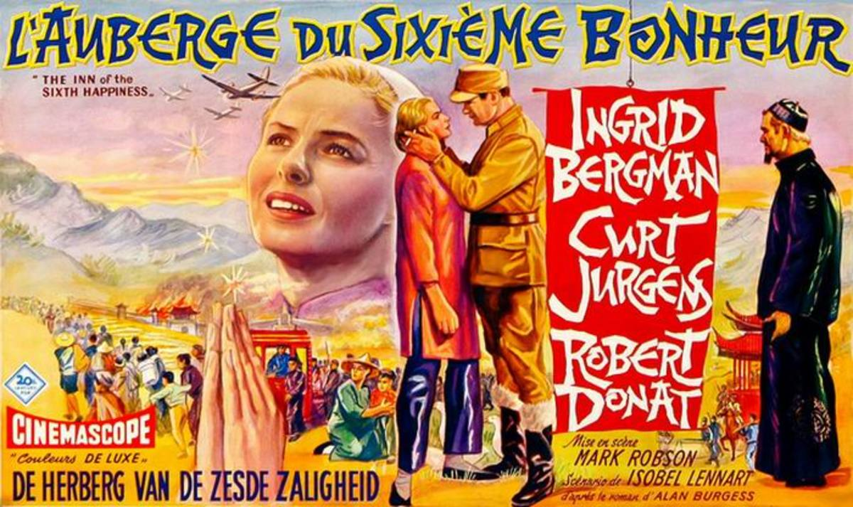 The Inn of the Sixth Sense (1958) Belgian poster