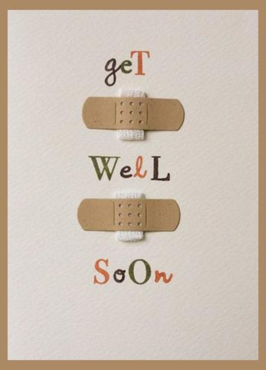 Funny Get Well Soon Quotes for Him