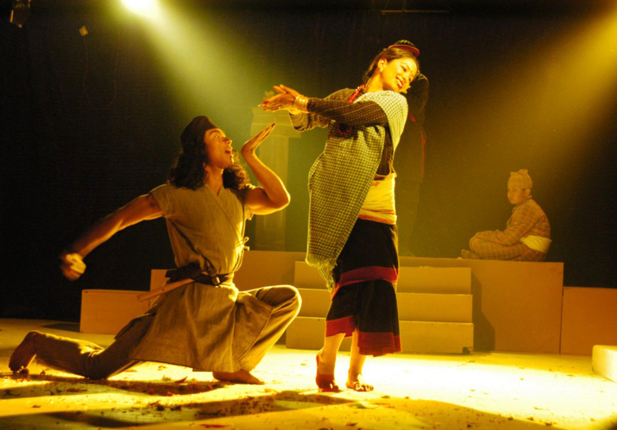 A still from Nepali musical