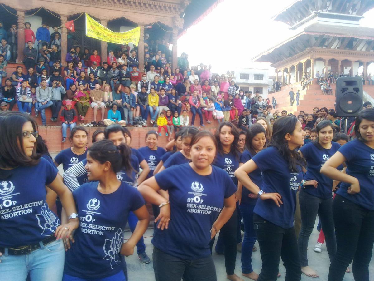 Street Theater in Kathmandu