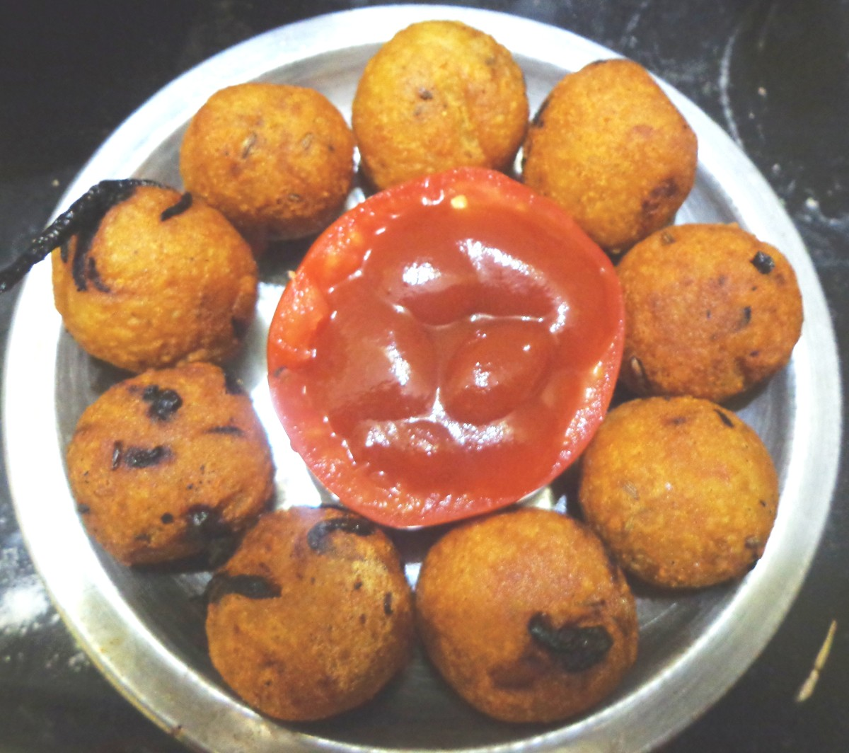 Spicy Potato Balls South Indian Madras Style Recipe