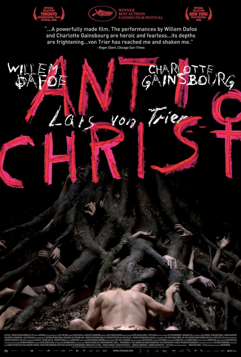 This is the dvd cover for Antichrist.