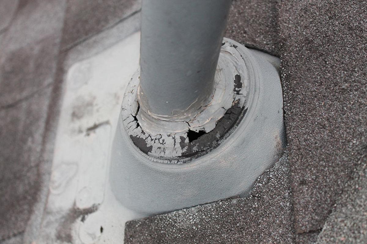 Fix Roof Leaks In Minutes Broken Shingle Roof Jack