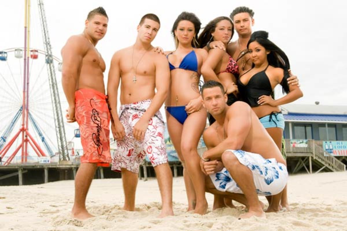 Jersey Shore - it's all about the partying!