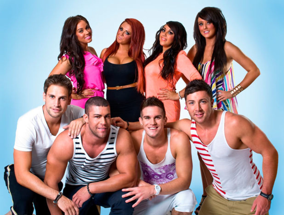 England's Geordie Shore - partying, very rude but very funny.