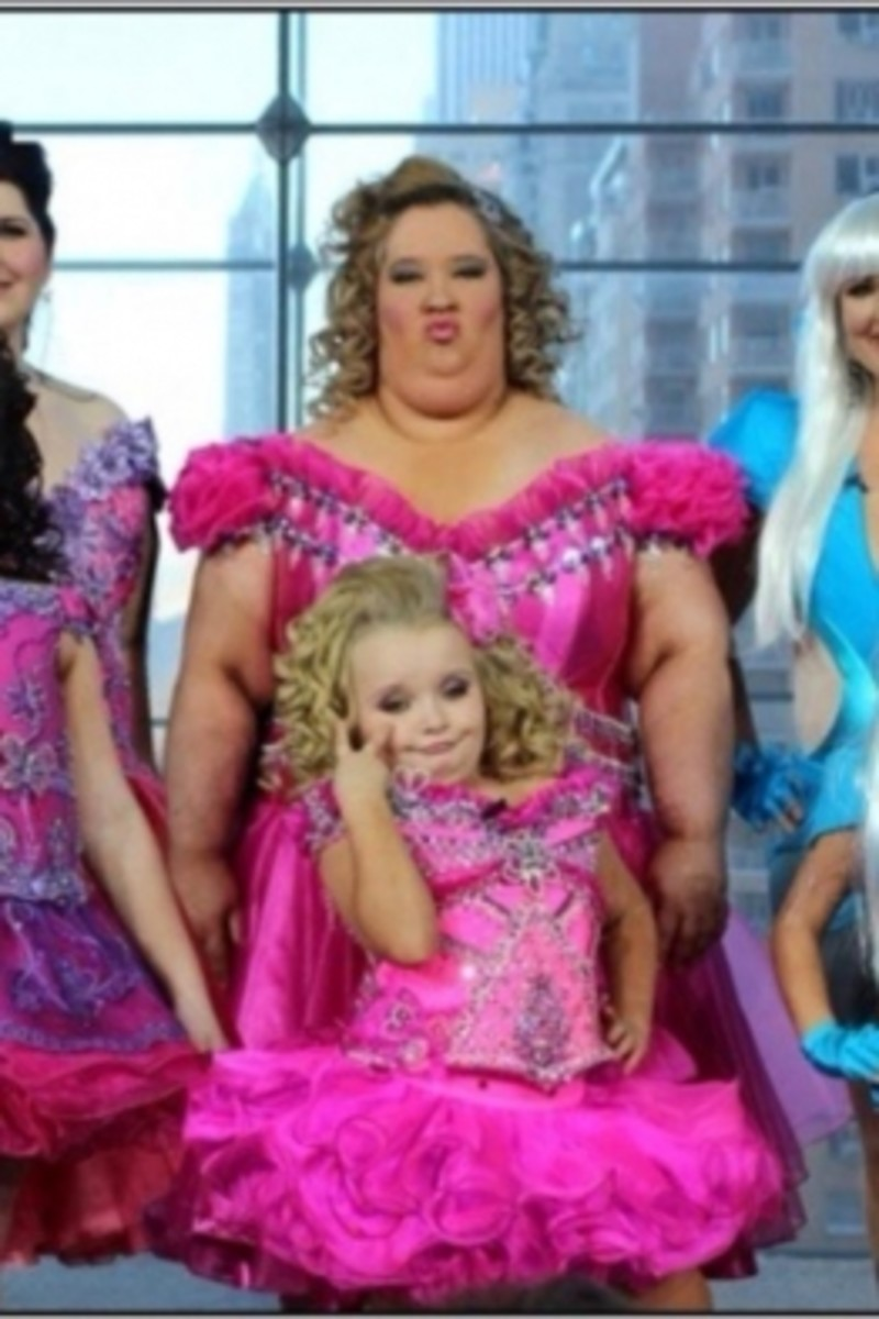 Honey BooBoo and Mother - urgh!