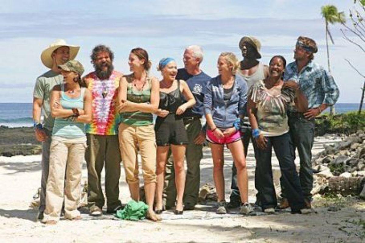 Cast of the US version of Survivor 2000