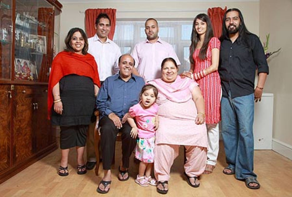 The Grewals, the funny real life family from the UK's 'The Family'