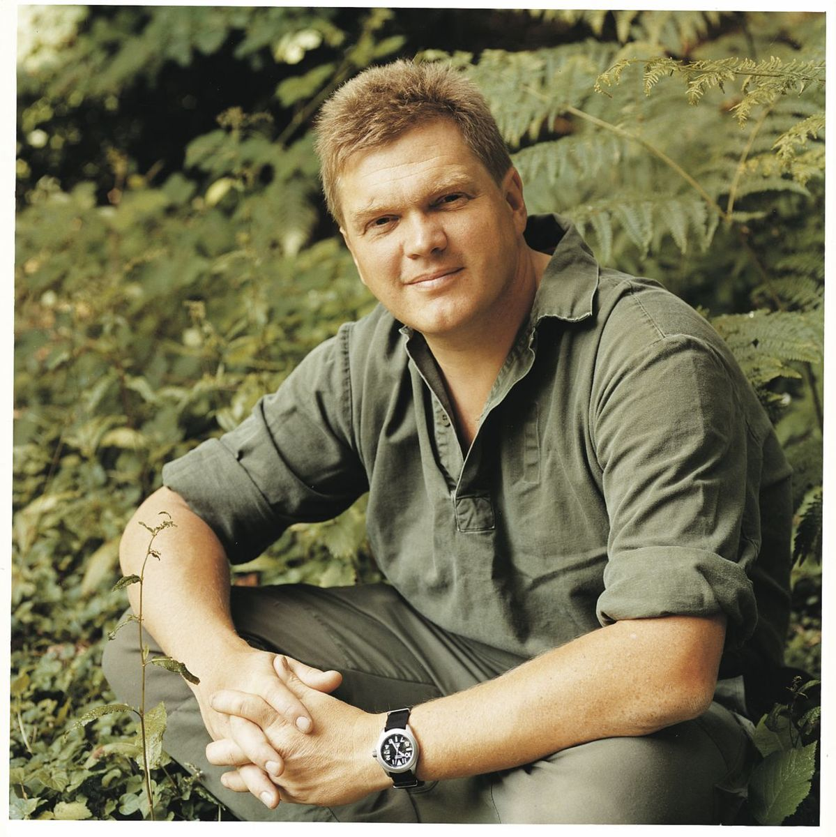 Ray Mears - bigger in the UK than USA but he's all man!
