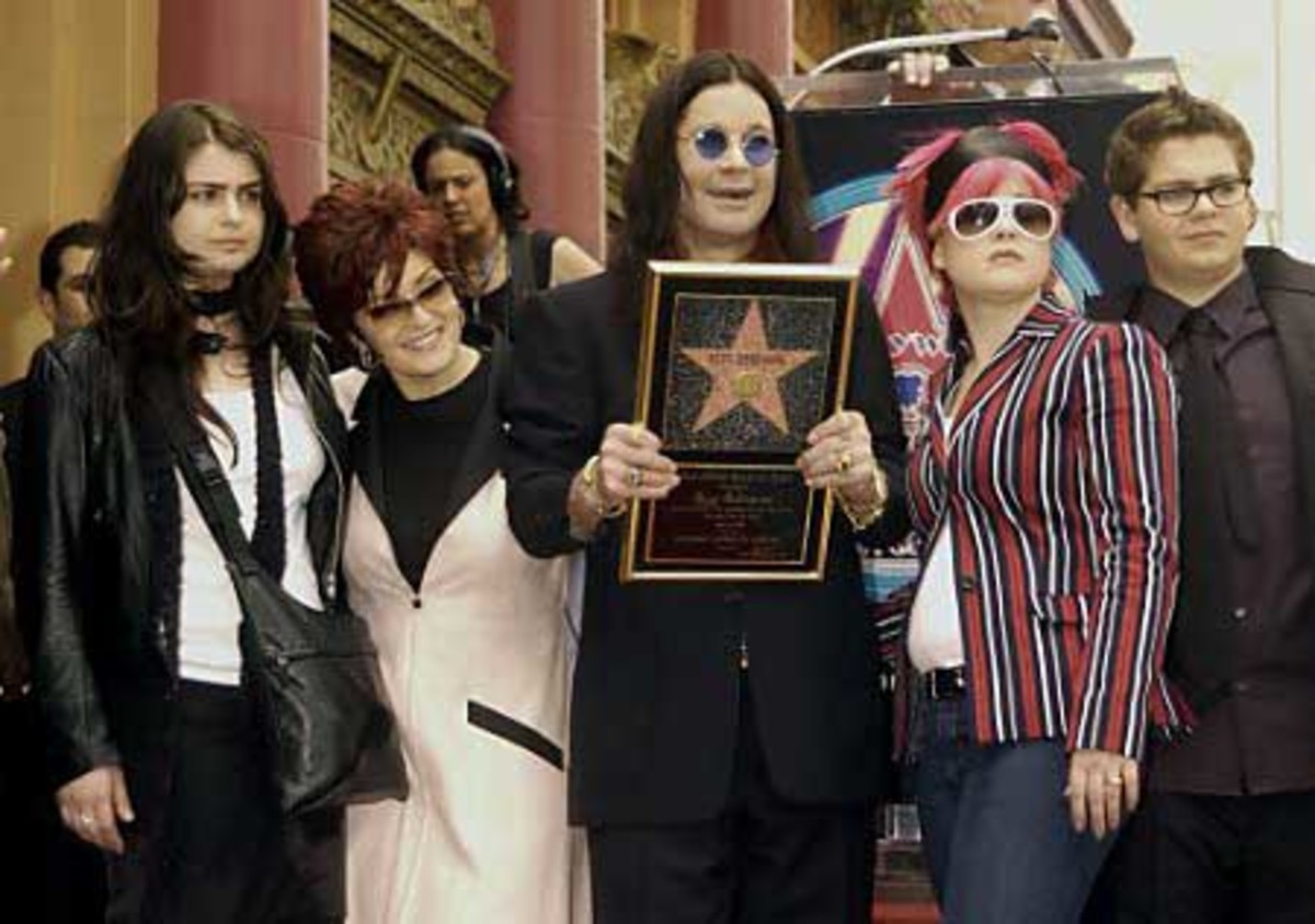 The first and best? The Osbournes - daughter Aimee chose not to take part and moved out!