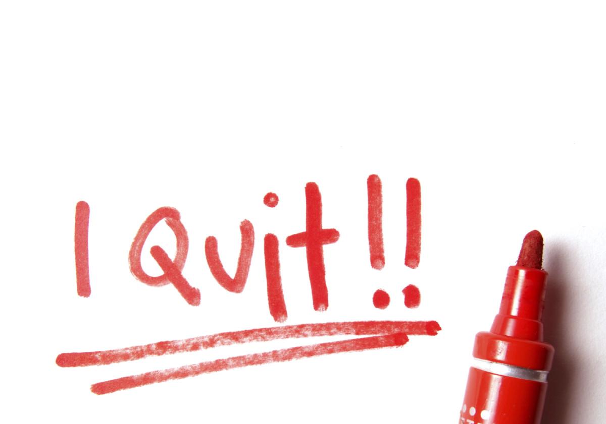 Start quit now.
