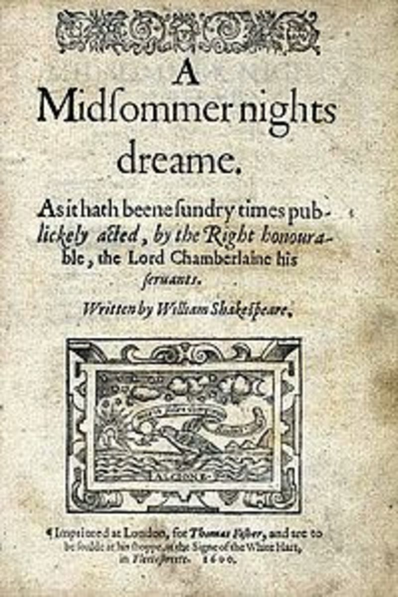 Annotated Bibliography on A Midsummer Night's Dream-- Sources for Learning About Shakespeare's Beloved Comedy
