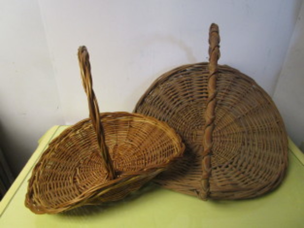 Basket Weaving - How to Weave a Gift Basket