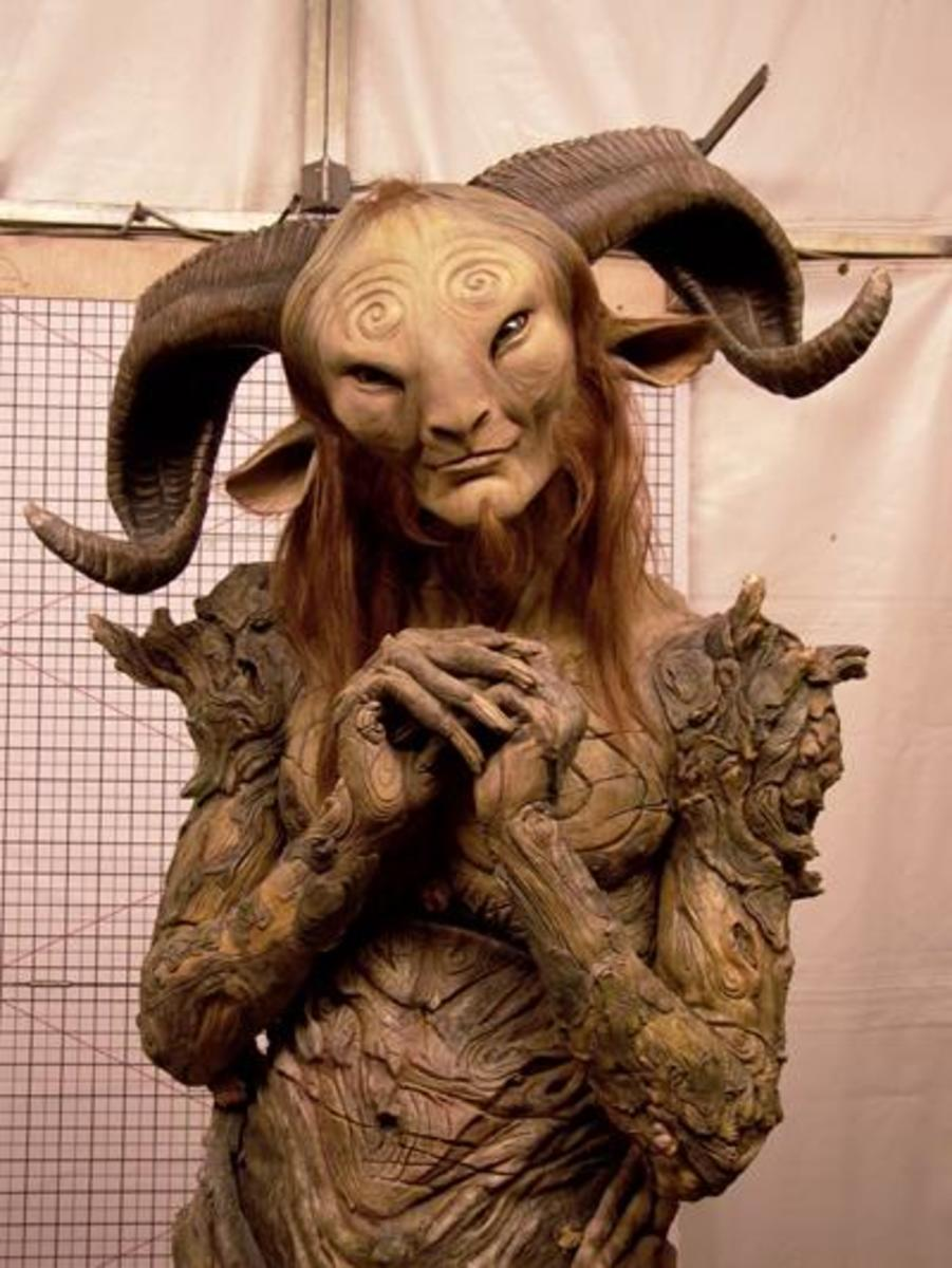 Never has a fawn been so intricate, so beautiful, and so eerie as it was created in Pan's Labyrinth.