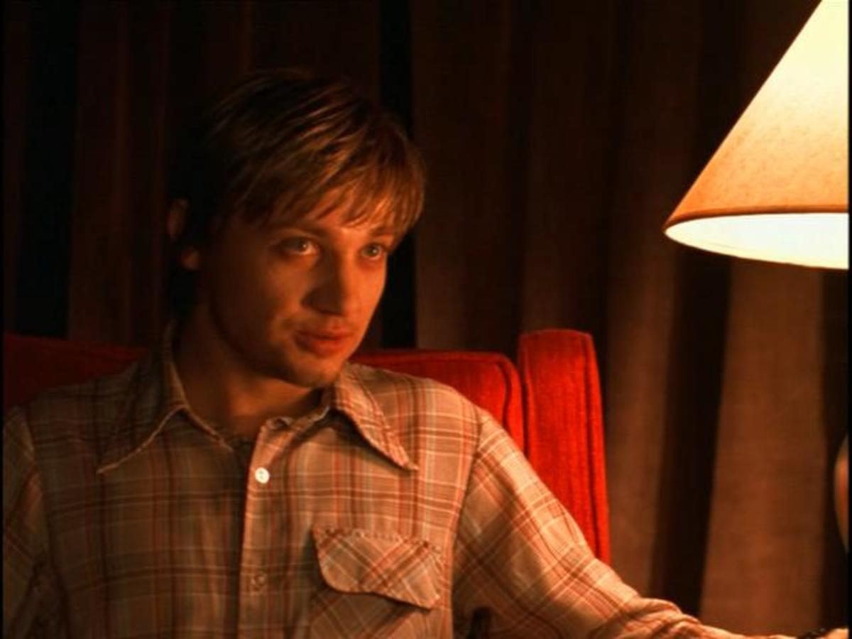 This scene from Dahmer brings you into the notorious serial killer's living room as he talks casually with what could be his next victim. What will he say?