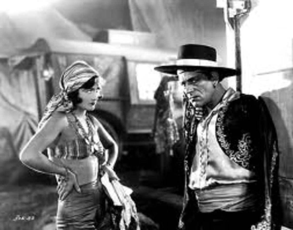 Alonzo the Armless is the main character in The Unknown, a little known and utterly bizarre movie from 1927.
