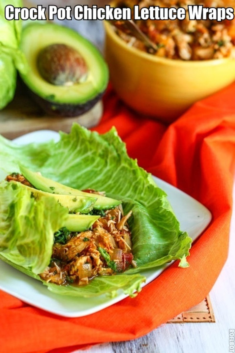 If your looking for a quick and easy meal to make that will be both easy to make and delicious then you can't go wrong with Crock Pot Tex-Mex Chicken Lettuce Wraps. This recipe is both easy to make and oh so very delicious.
