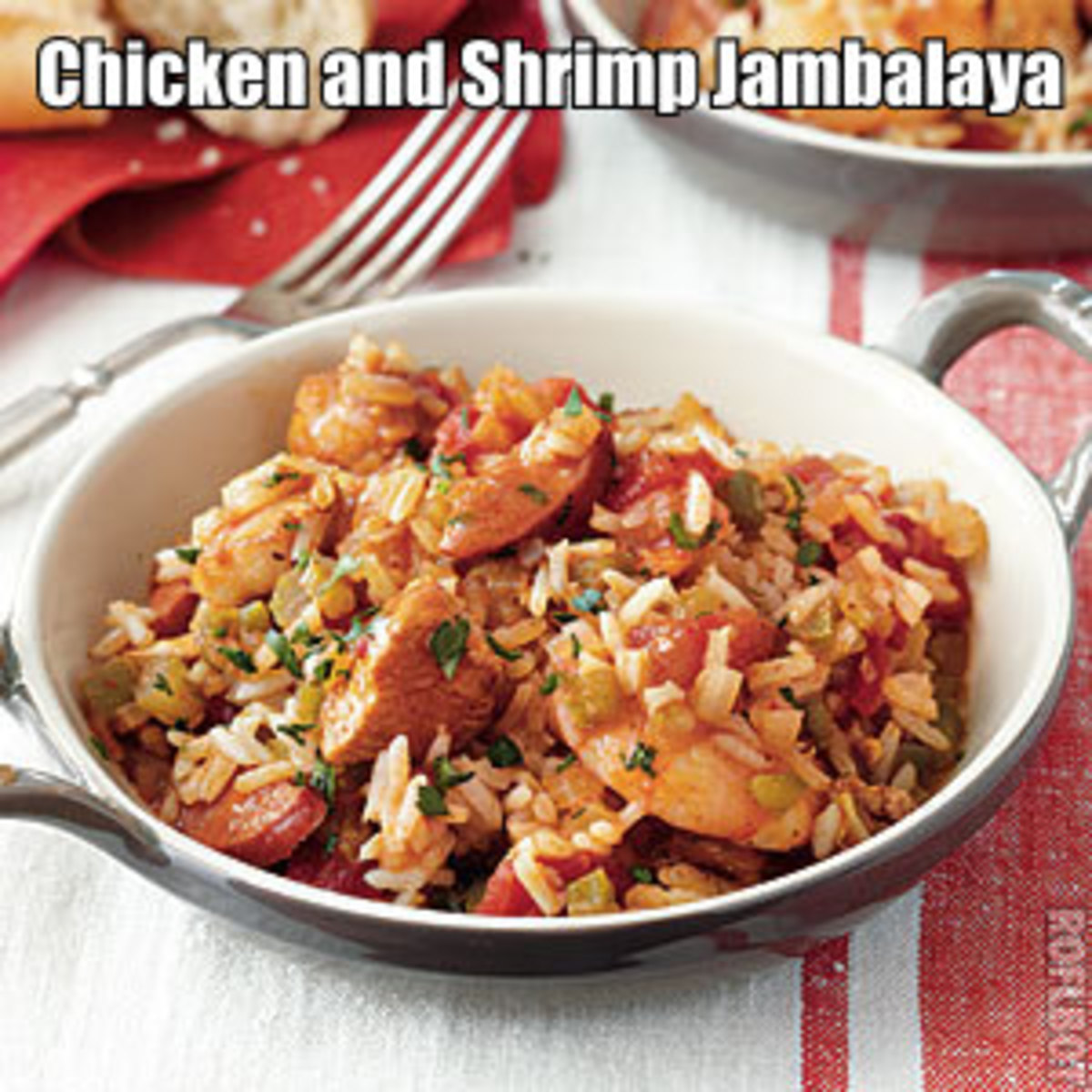 Have you ever had Jambalaya? If not then you're in for a treat. Here were going to be making a delicious Chicken and Shrimp Jambalaya that every one is sure to love.