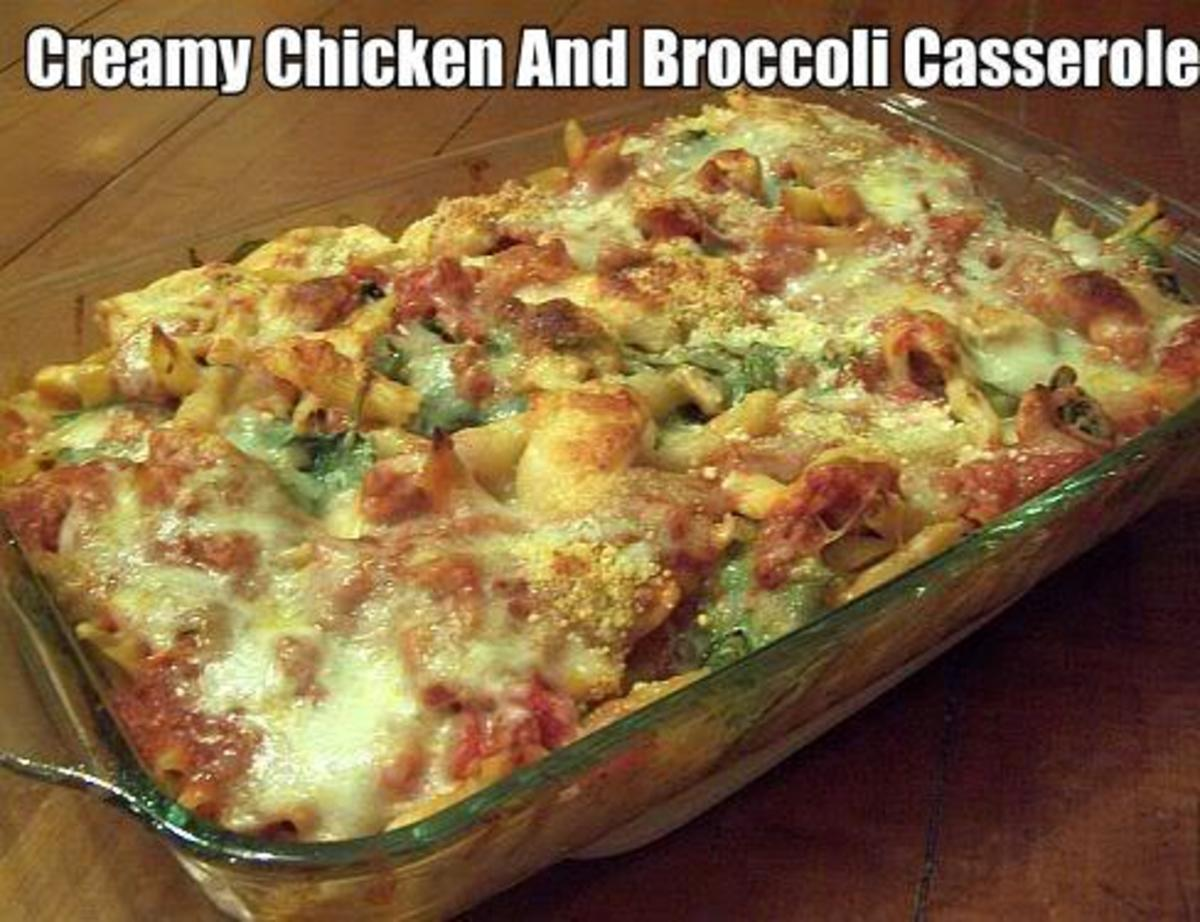 Here you have one of the most delicious chicken casseroles you will ever eat. Its called a Creamy Chicken And Broccoli Casserole and its delicious and inexpensive to make. Wow what a combination.