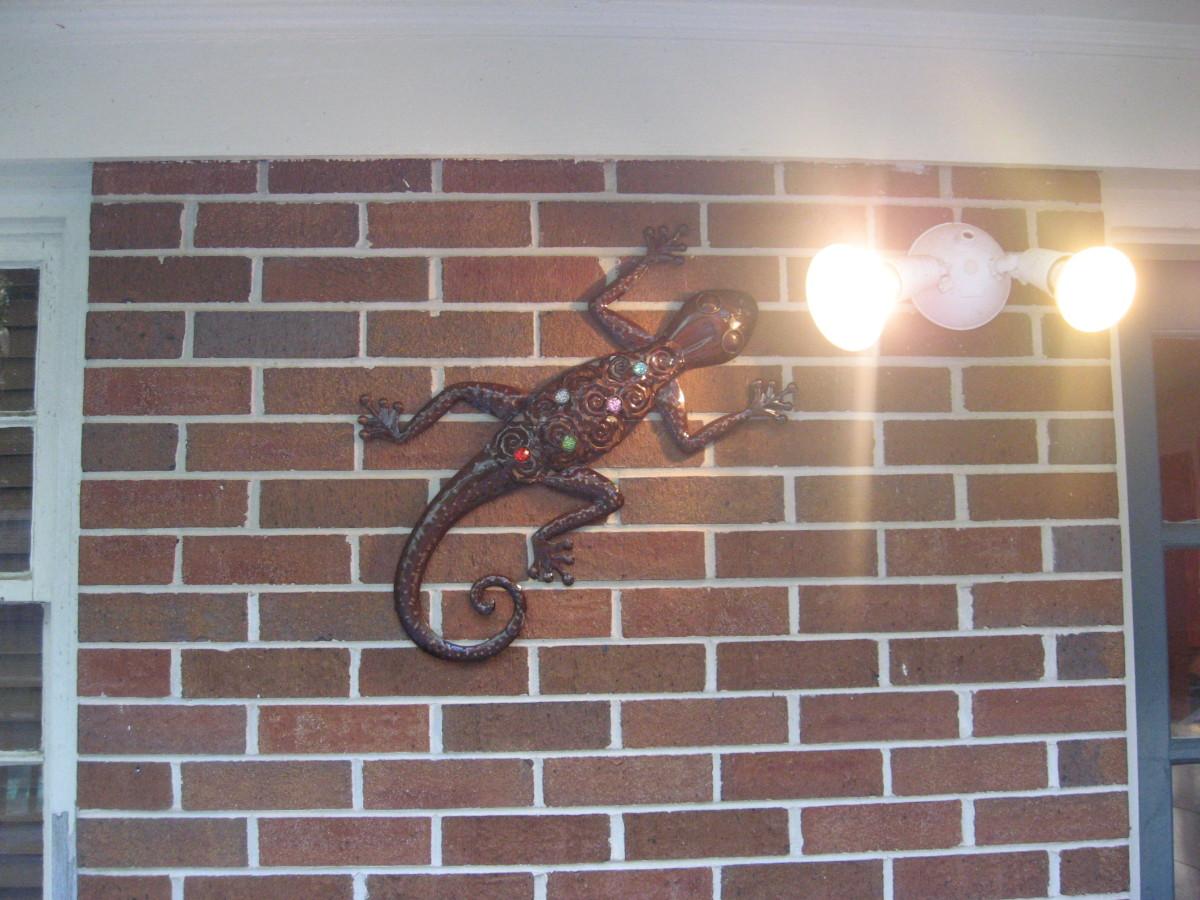 cheap metal gecko