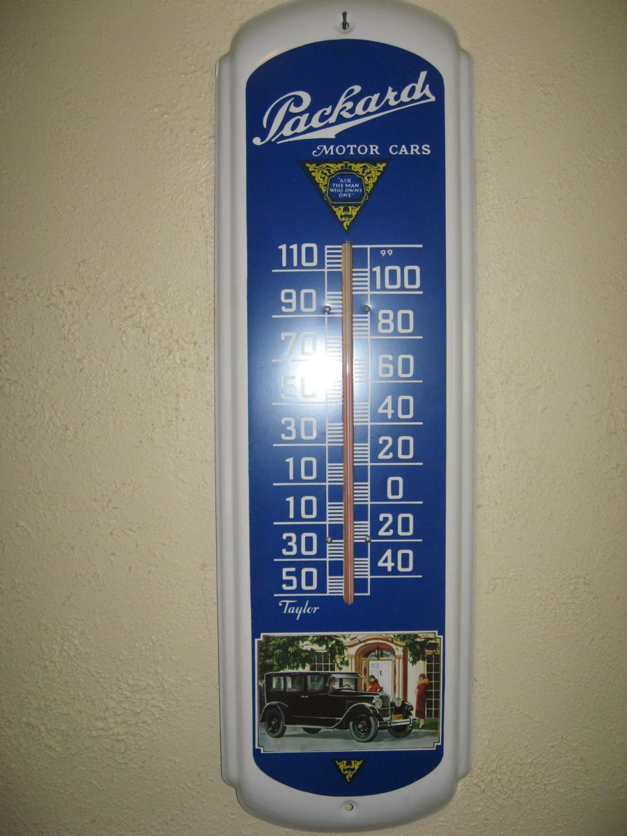 Hubby's favorite thermometer