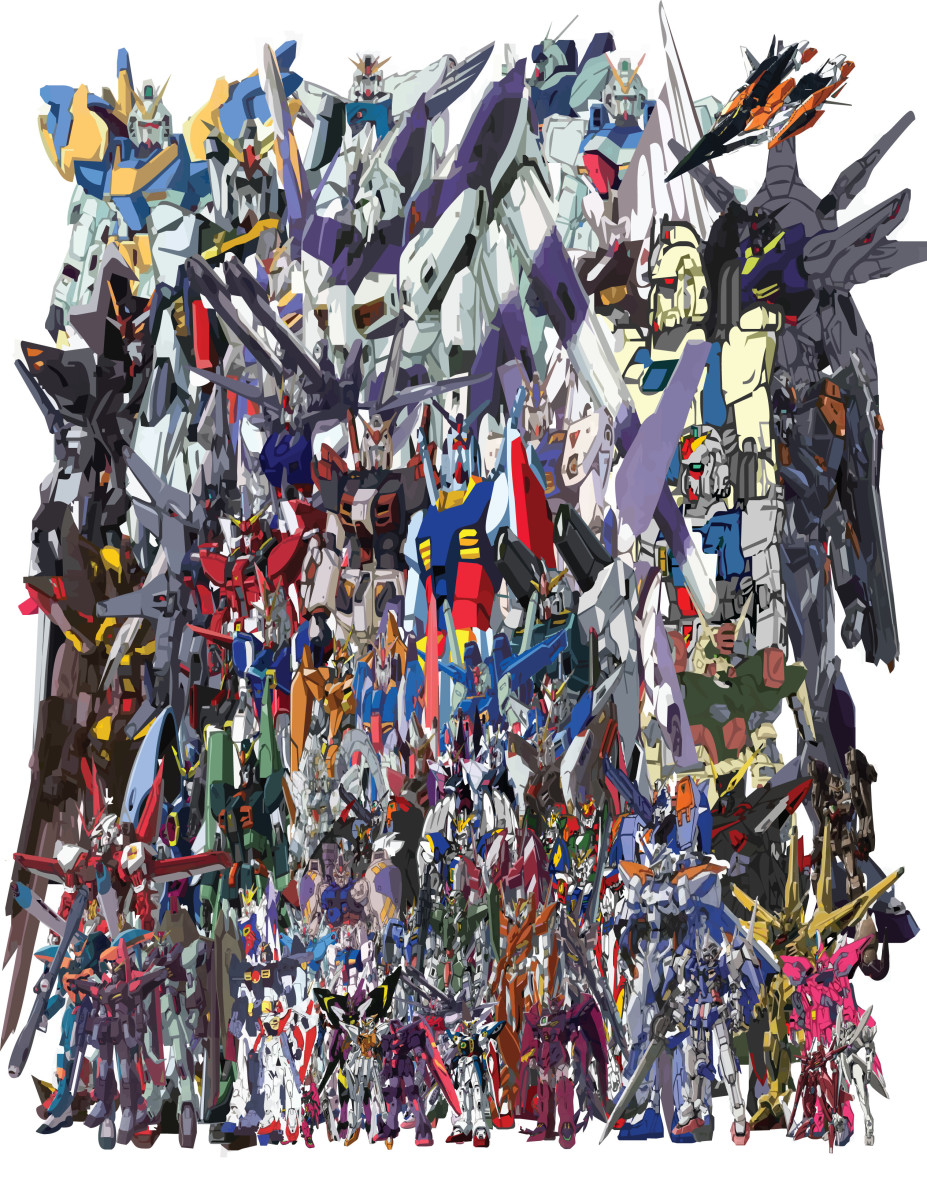 Here is List of Gundam Series You Could Watch