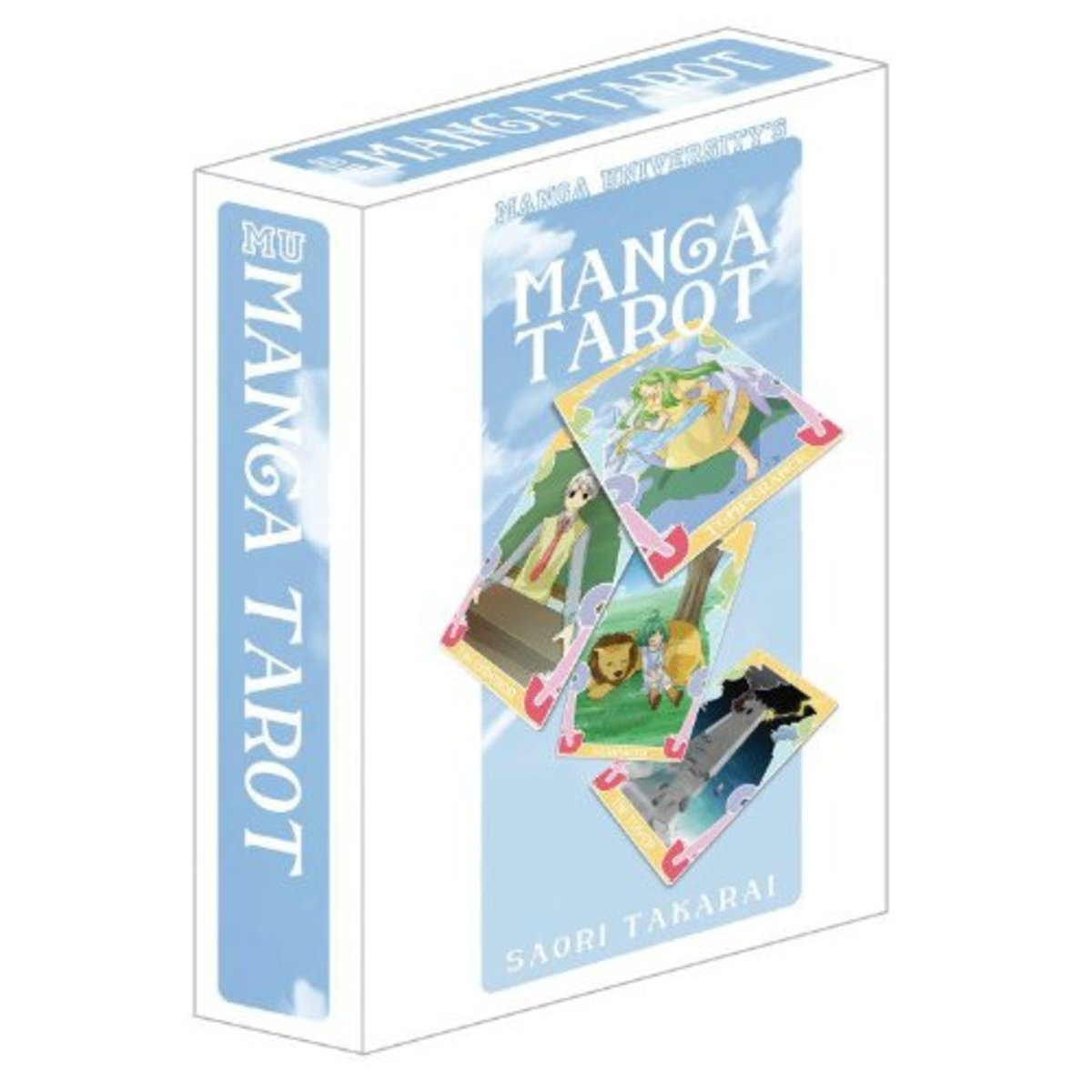 Manga University's Manga Tarot (Cards Plus Guidebook) by Saori Takarai