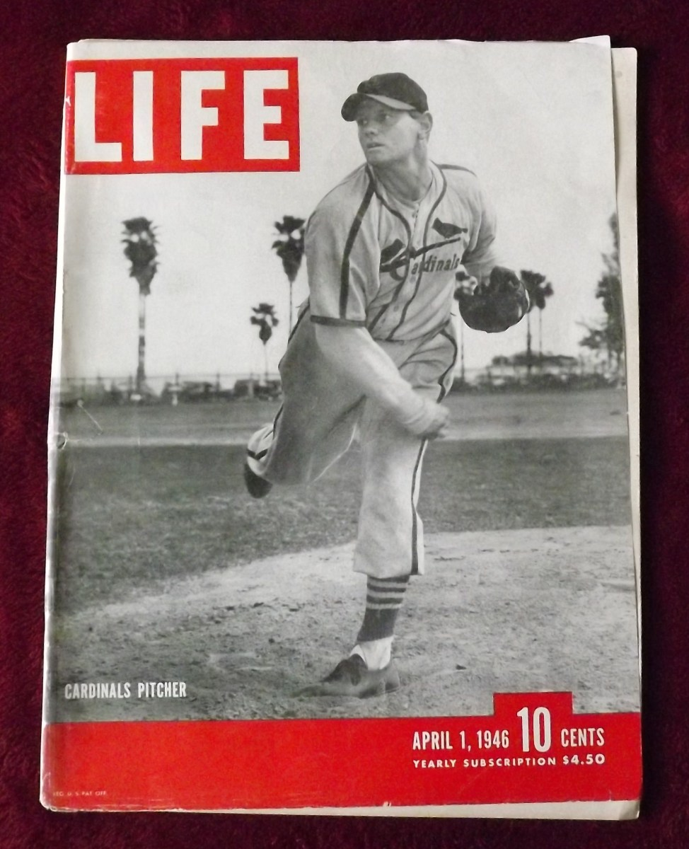 April 1, 1946 Life--A Vintage Magazine