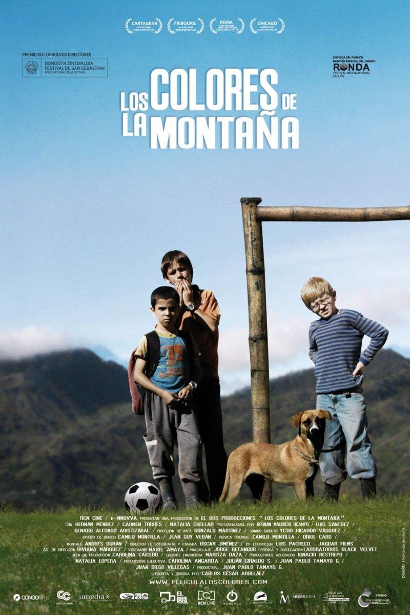 Los Colores de la Montaña original poster