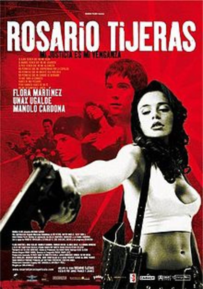 Original poster from Rosario Tijeras movie