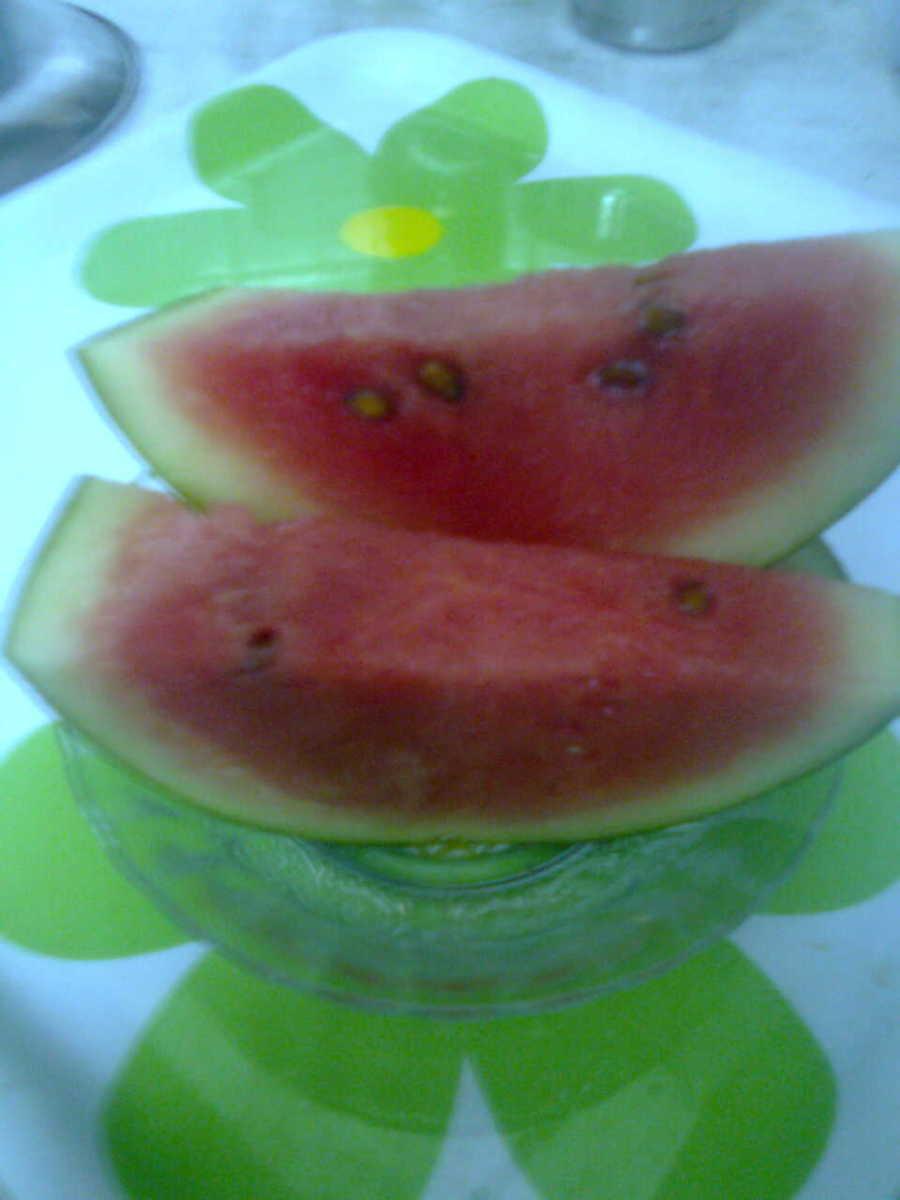 Detoxify with Fresh Fruit-Water Melon