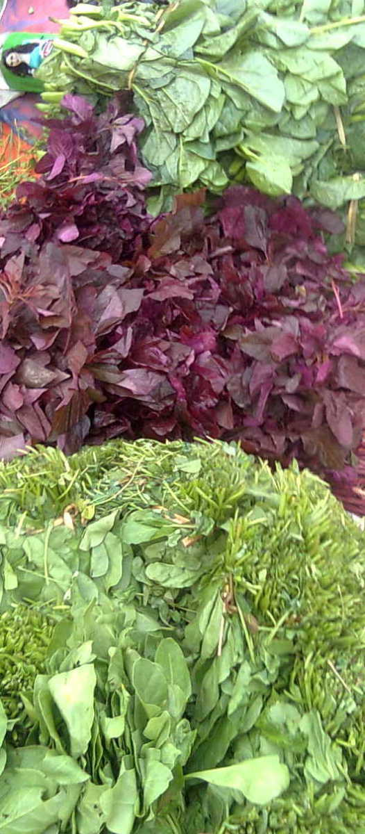 Green and leafy vegetables are good for detoxification
