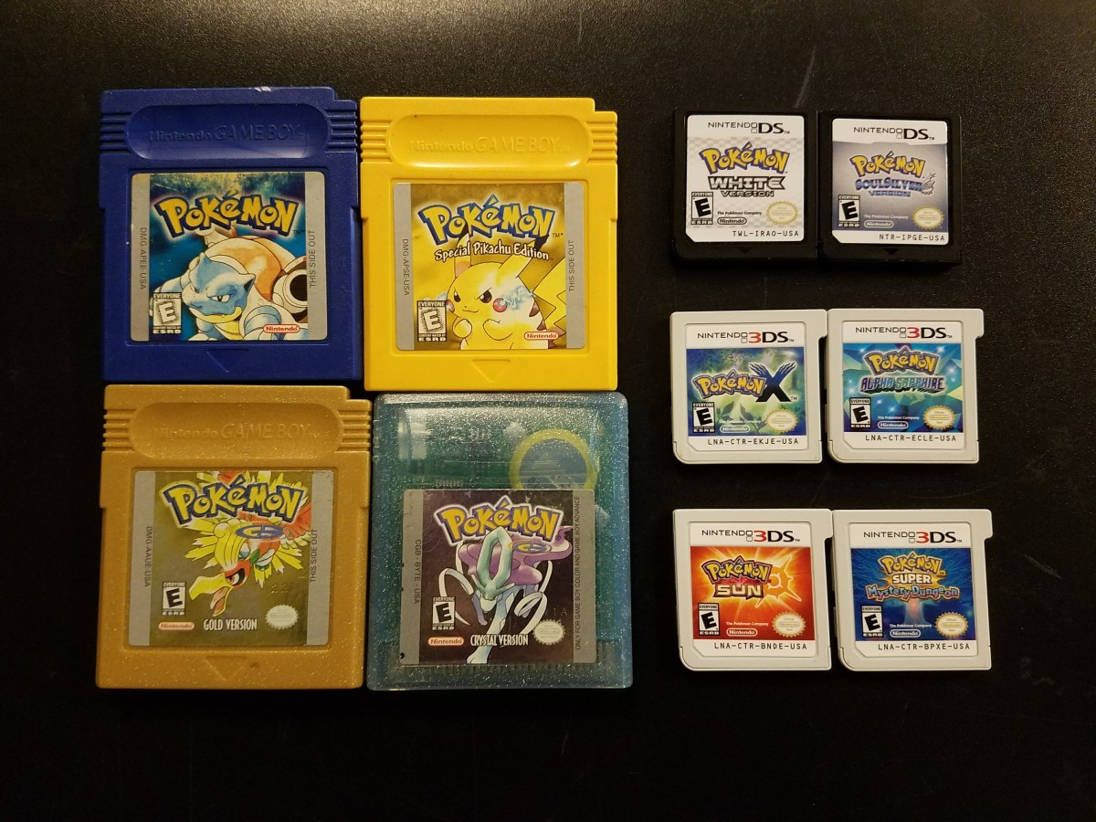 Pokémon games are extremely popular and continue to be published today.