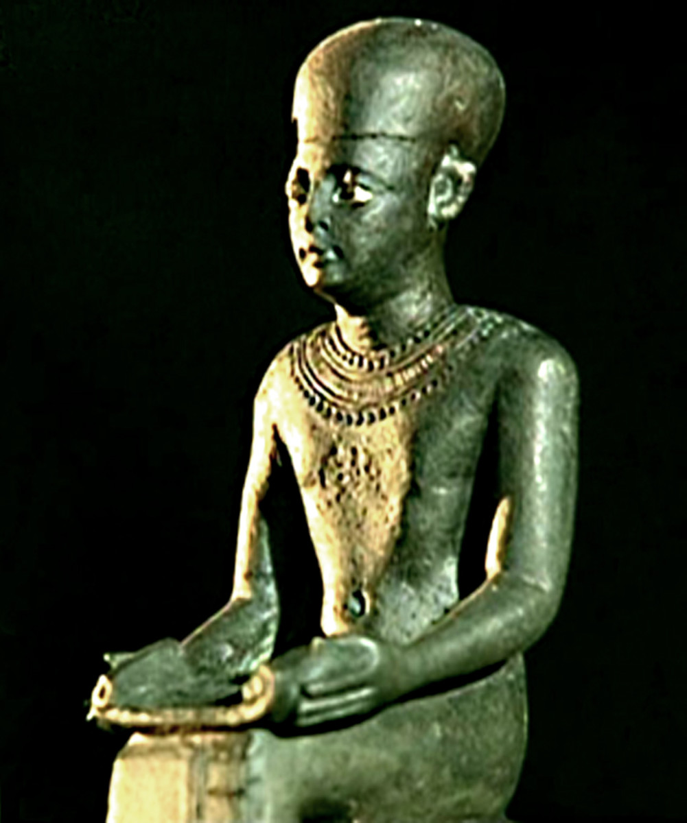 Imhotep - architect, poet, philosopher, medic, astrologer, priest and political administrator