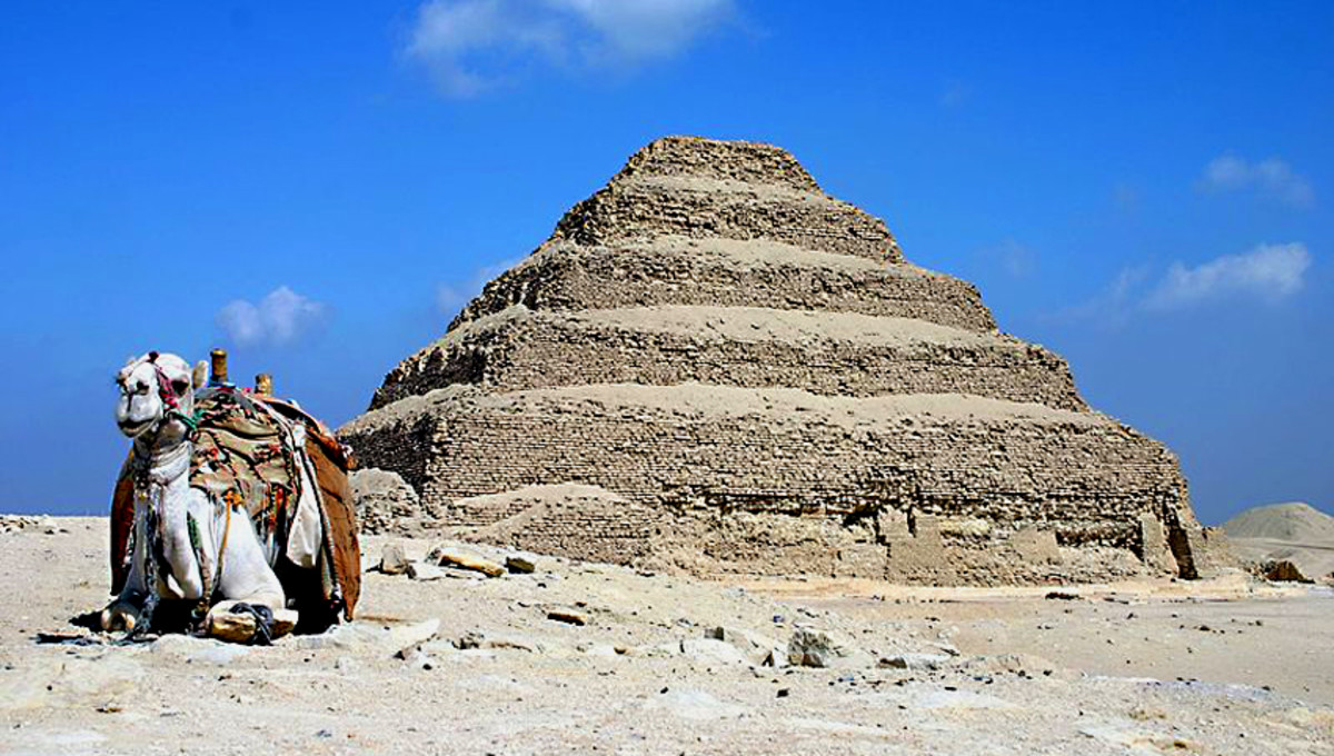 The oldest of all pyramids