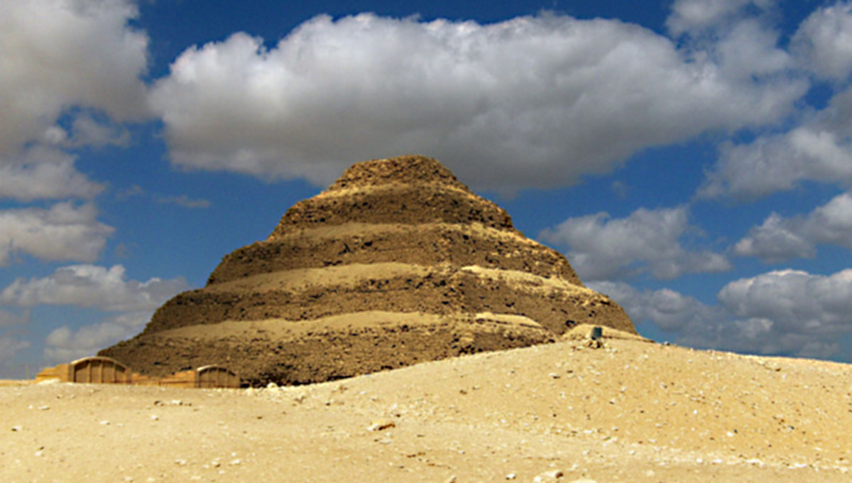 Anyone who travels to Cairo to see the 'Great Pyramids' of Giza should also take half a day to travel to Saqqara to see the oldest of all pyramids - the historic Step Pyramid of Djoser